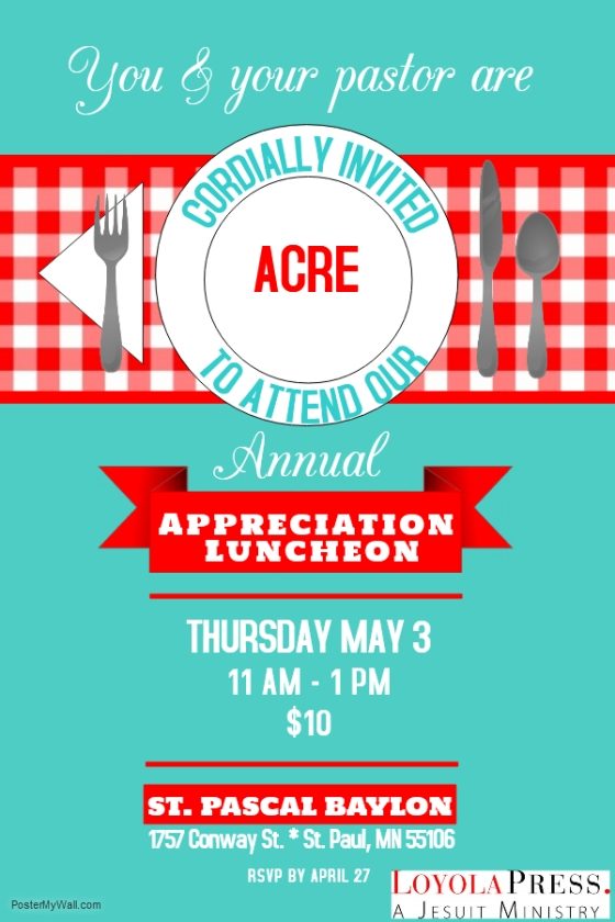 ACRE appreciation luncheon